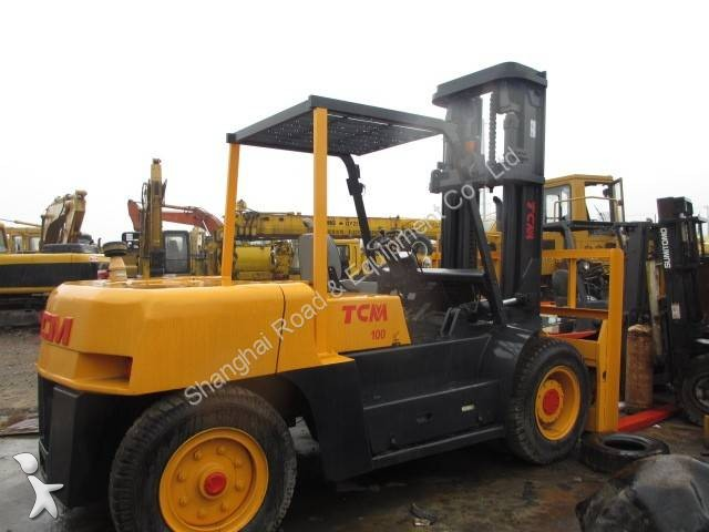View images TCM 10Tons heavy forklift
