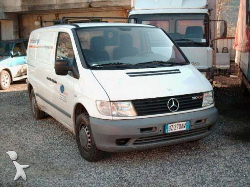 e18b04d086 used Mercedes Vito cargo van 110 CDI - n°107342 - Picture 1 ...