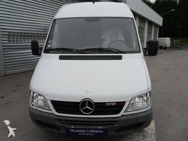 fourgon utilitaire mercedes sprinter 308 cdi 4x2 occasion n 255666. Black Bedroom Furniture Sets. Home Design Ideas