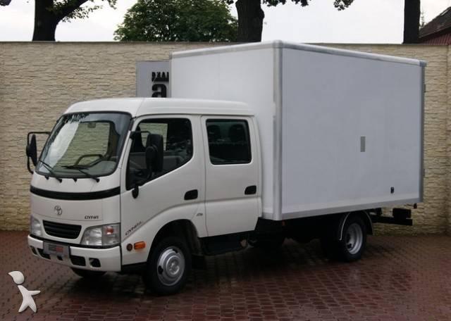 Used Toyota Cargo Van DYNA 25 D 4D BRYGADOWY KONTENER 6 MIEJSC