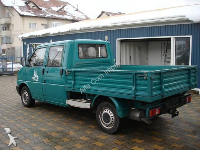 utilitaire plateau ridelles occasion volkswagen t4 2 4 d annonce n 521077. Black Bedroom Furniture Sets. Home Design Ideas