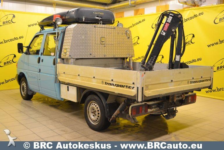 utilitaire plateau volkswagen transporter 4x4 kraana. Black Bedroom Furniture Sets. Home Design Ideas