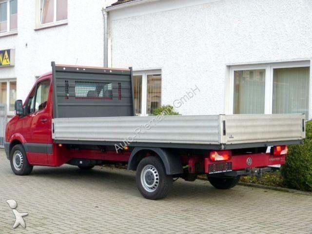 gebrauchte volkswagen crafter pritsche bis 7 5t 35. Black Bedroom Furniture Sets. Home Design Ideas