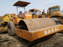 Sakai single drum compactor