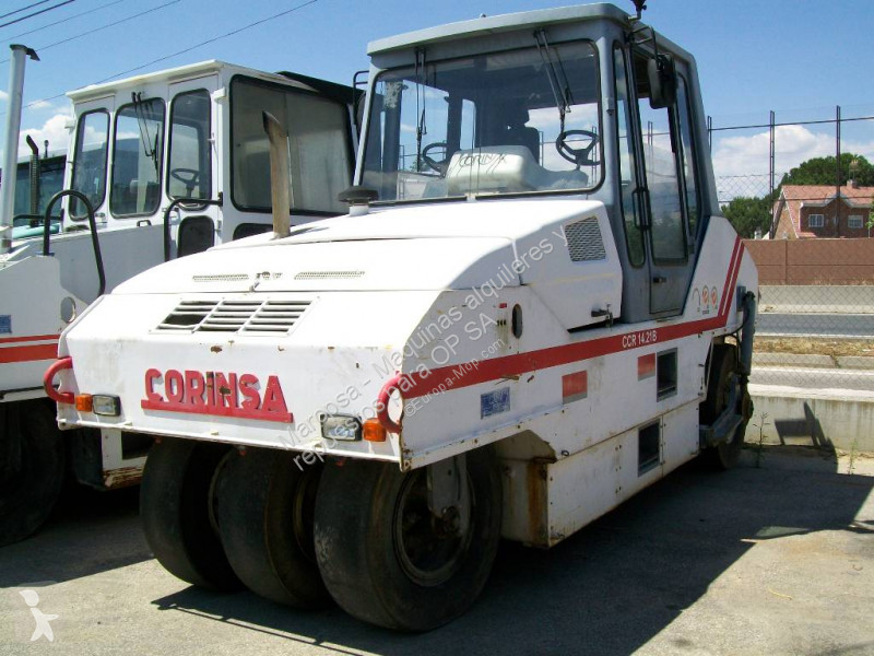 View images Corinsa CCR 1421B compactor / roller