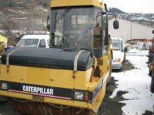 Caterpillar single drum compactor