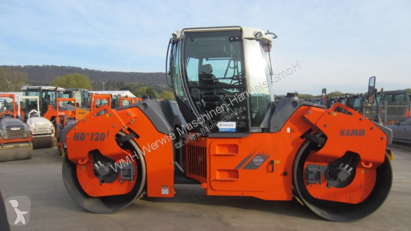 View images Hamm HD+ 120i VV compactor / roller