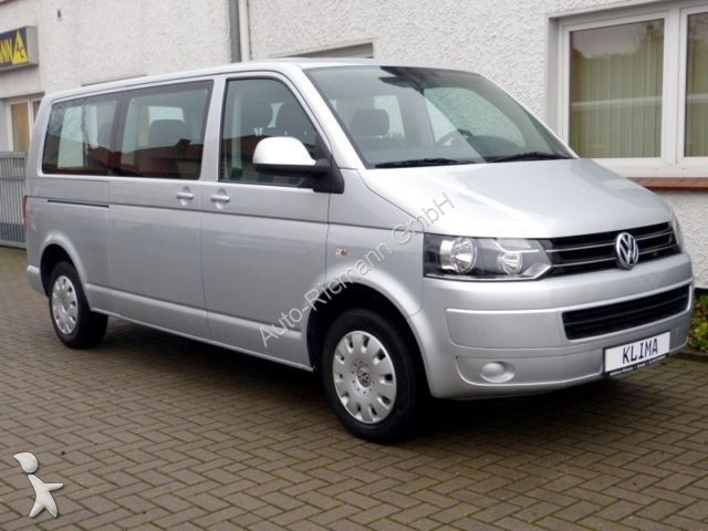 minibus volkswagen caravelle comfortline tdi lang mit navi. Black Bedroom Furniture Sets. Home Design Ideas