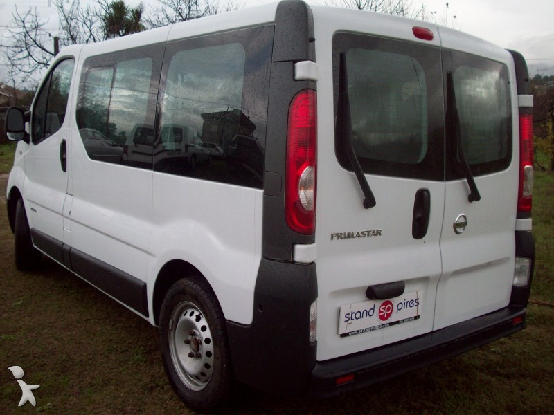 minibus occasion nissan nc primastar 2 0 dci gazoil annonce n 492803. Black Bedroom Furniture Sets. Home Design Ideas