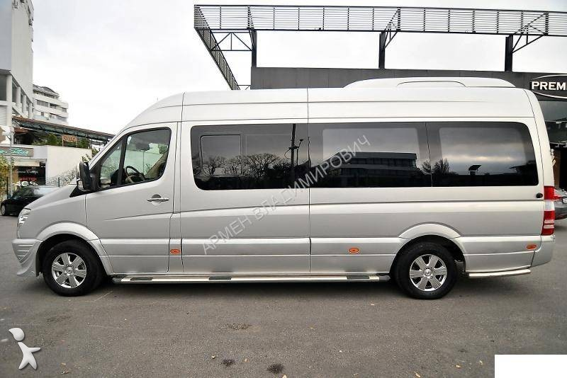 minibus mercedes sprinter 318 cdi occasion n 905563. Black Bedroom Furniture Sets. Home Design Ideas