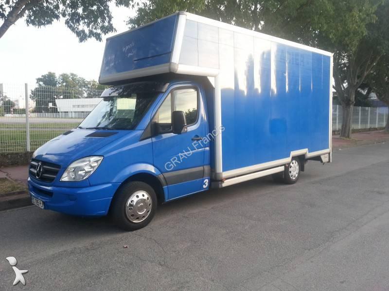 Utilitaire ch ssis cabine mercedes sprinter 518 cdi 4x2 for Garage mercedes loison sous lens