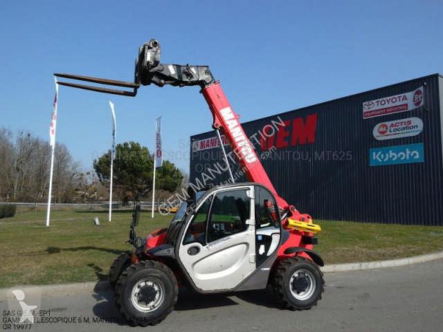 Chariot télescopique Manitou MT625