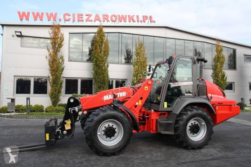 View images Manitou ARTICULATED TELESCOPIC LOADER MANITOU MLA630-125 6 M telescopic handler