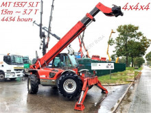 carretilla elevadora de obra Manitou MT 1337 SLT verreiker - 4x4x4 - SNELWISSEL - *4434 Hours* - PERKINS 4 CYL TURBO 73kW - AWD & ALL WHEEL STEERING - 13m + 3.7T