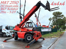 carrello elevatore telescopico Manitou MRT 2150 - 360* ROTO - 4x4x4 - *797 HOURS* - QUICK HITCH - 21M - 5 TONS - TURBO 97 kW - SERIE M-E2