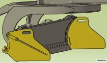 Jonquet volet latéraux fixes Cat 120M