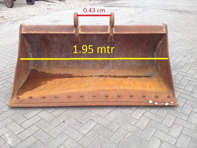 Vedeţi fotografiile Echipamente pentru construcţii Verachtert Bucket, 1.95 MTR