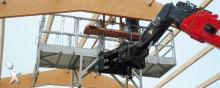 aanbouwstukken voor bouwmachines Manitou OHR Platform 365 kg