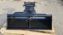 n/a 100 cm Hydraulischer Grabenräumlöffel Baggerlöffel für Minibagger 0,8 - 2,0 Tonnen
