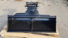TKmachines 120 cm Hydraulischer Grabenräumlöffel Baggerlöffel für Minibagger 0,8 - 2,0 Tonnen, Schaufeln
