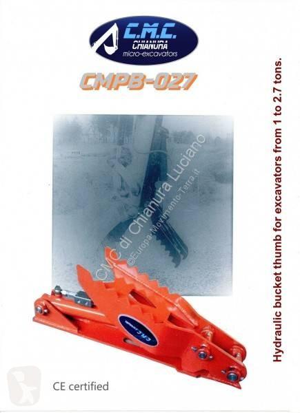 Vedeţi fotografiile Echipamente pentru construcţii C.M.C Chianura Pollici Benna idraulici