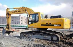 echipamente pentru construcţii Hyundai R320LC-7