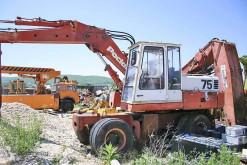 echipamente pentru construcţii Poclain 75P