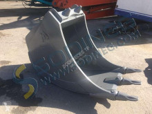 Mecalac tiltable ditch cleaning bucket