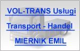 VOL-TRANS Usługi- Transport - Handel MIERNIK EMIL