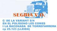 SEGRIA V.O. 2016, SLU